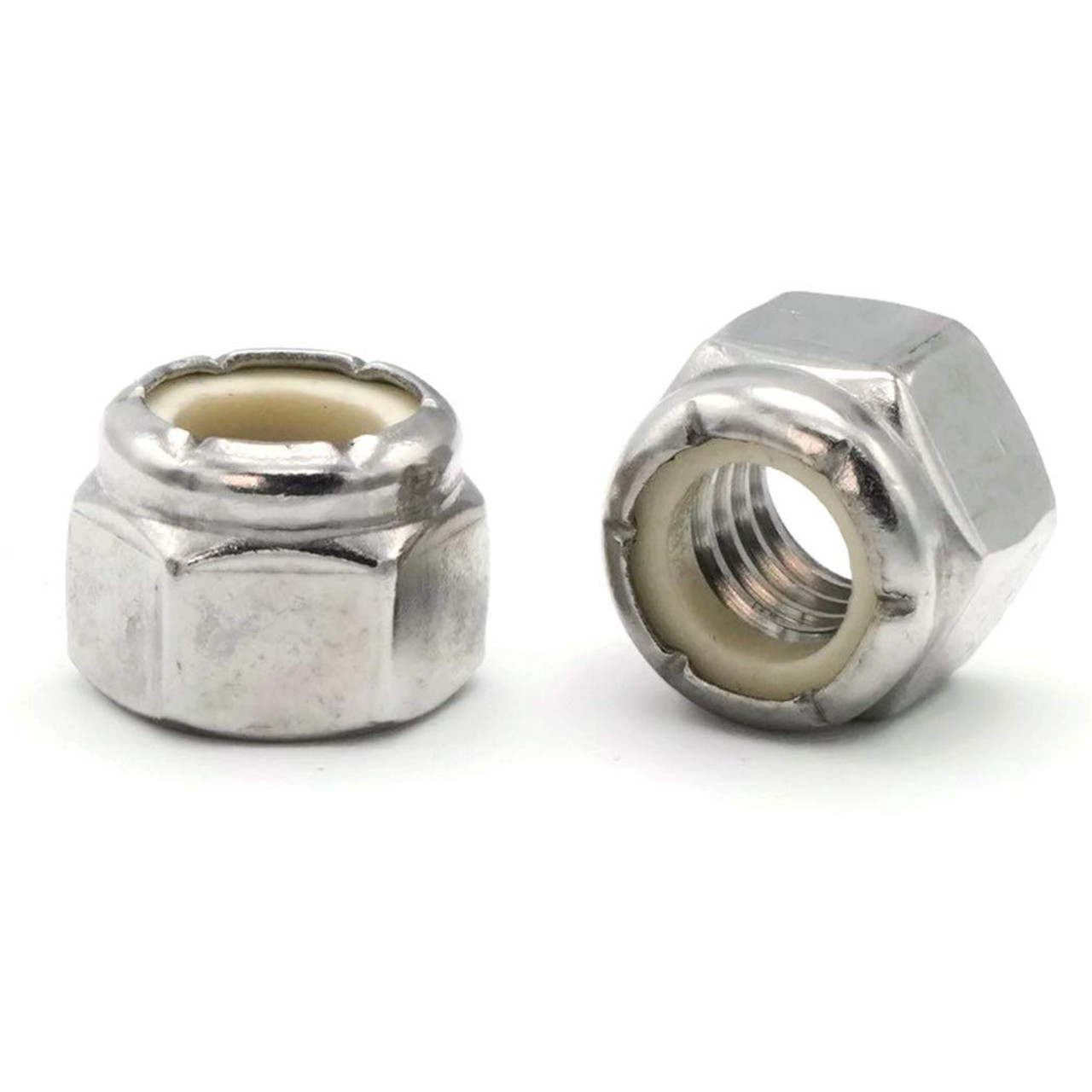 10-32 Nylock Nut 316 Stainless
