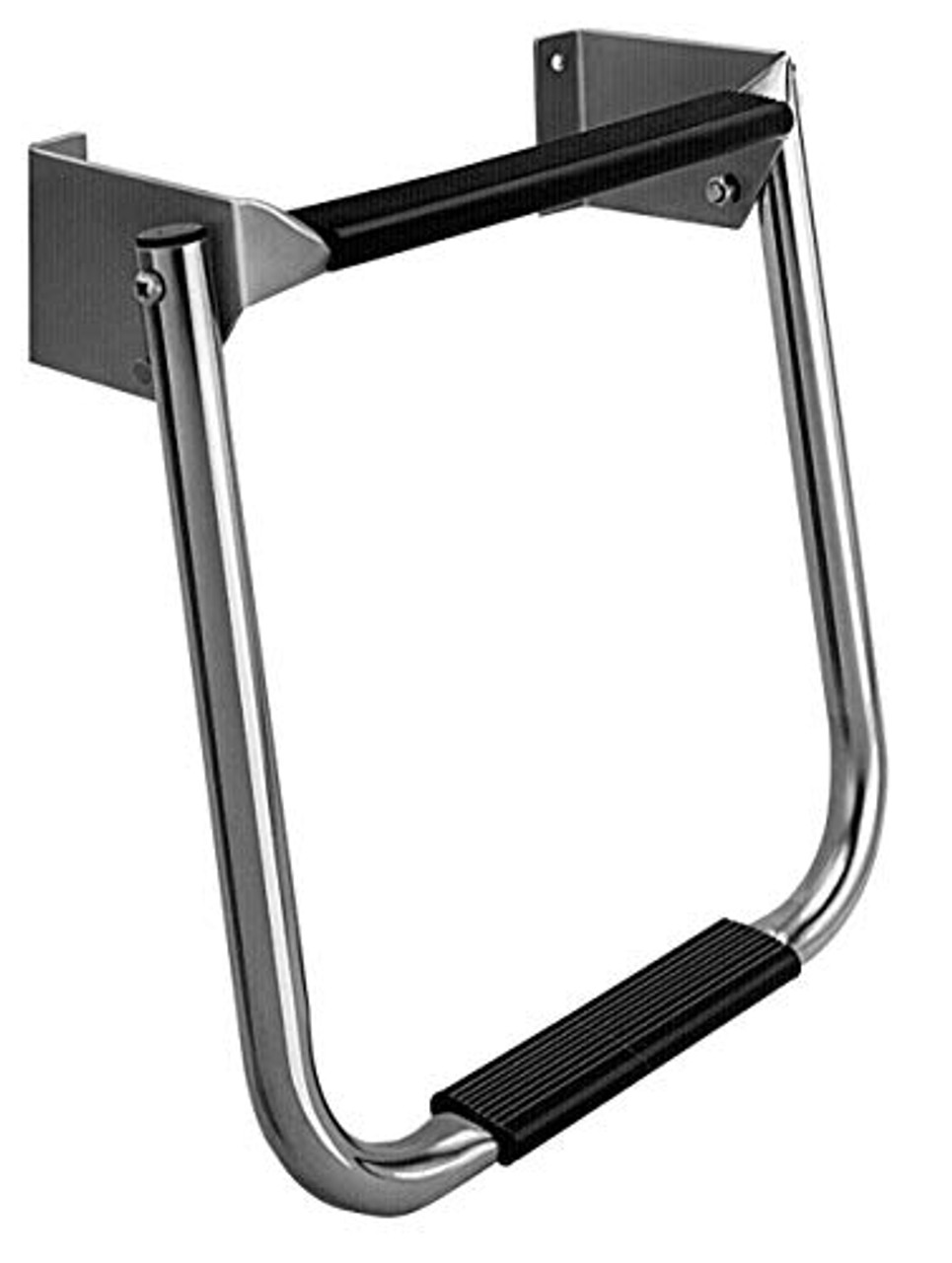 Garelick Compact Stainless Steel Transom Ladder