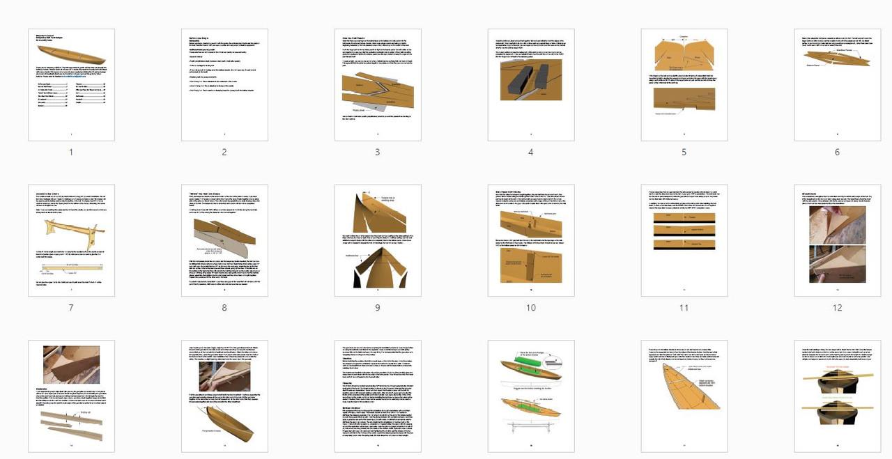 Assembly Manual - Moccasin 14 Canoe