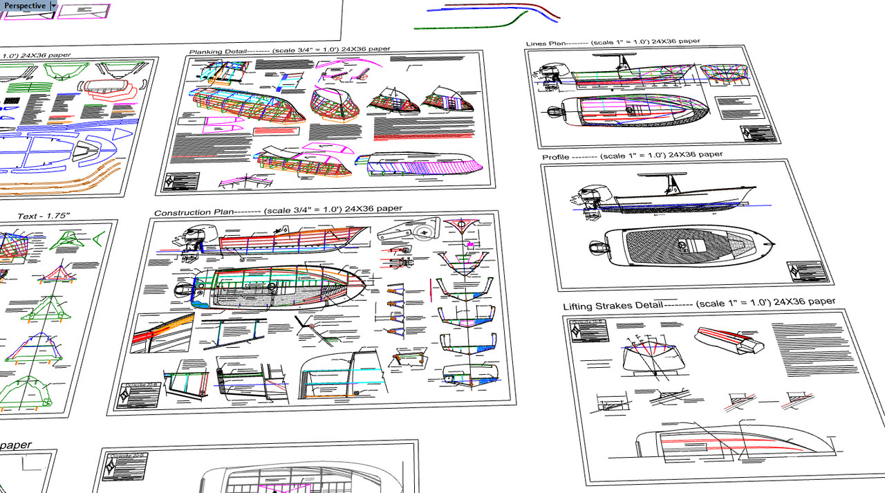 Ocracoke 20-B Plans and CNC .DXF FILES