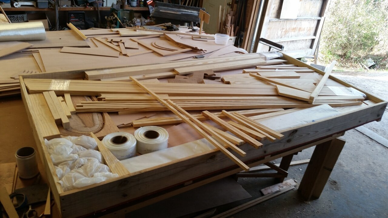 Spindrift 9 CNC Plywood Kit