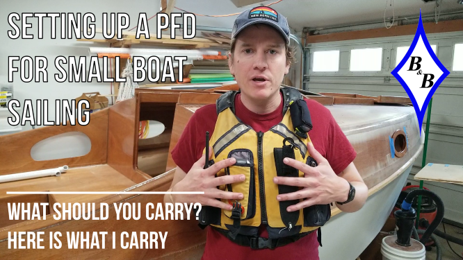 Setting up a PFD for Small Boat Sailing