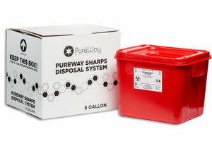 PureWay 8 Gallon Collection Bin disposal System