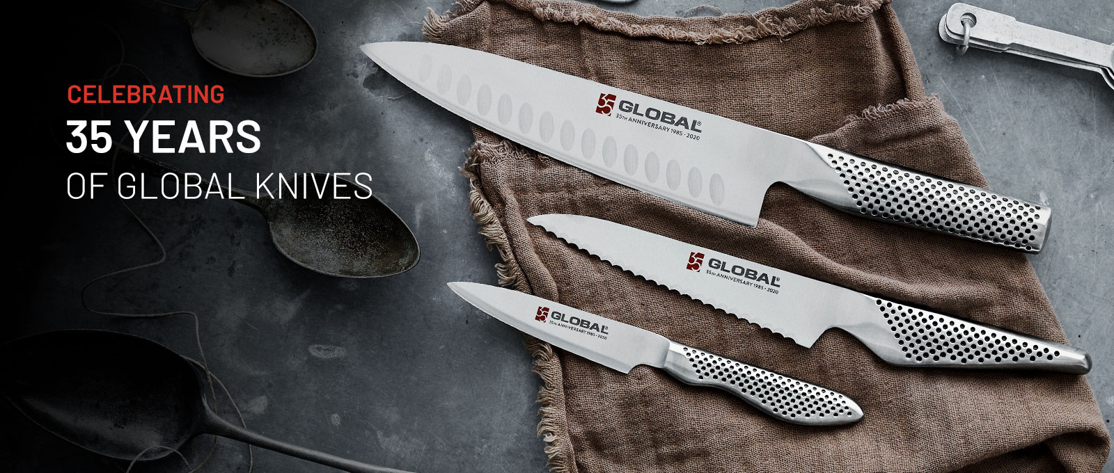 Celebrating 35 years of Global Knives