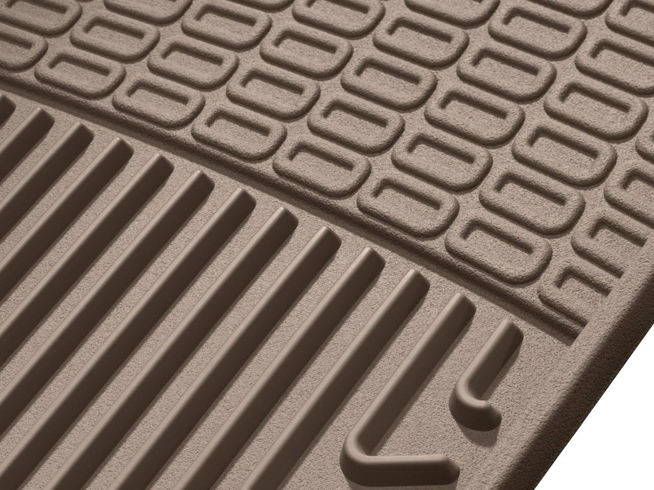WeatherTech WTFG235185 Floor Mat Front//Rear Rubber