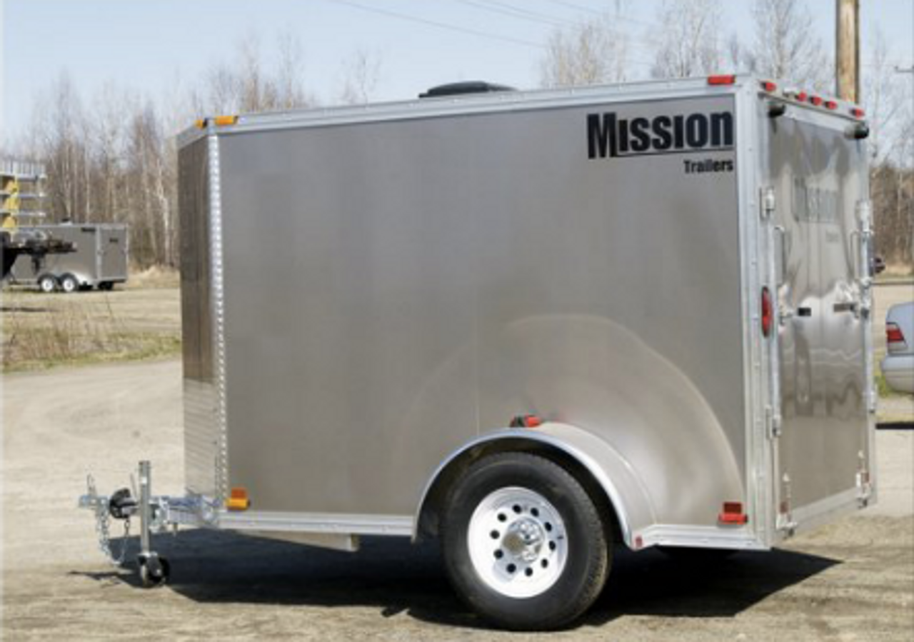 4x6 Enclosed Trailer >> Mission 4 X 6 2 2k Enclosed Cargo Trailer Mec4x6 If