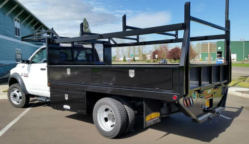 Great Northern Single Rear Wheel Long Bed Truck Flatbed