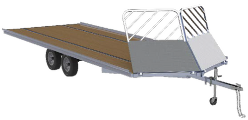 fe8753d9a9680 Mission 8.5  X 22  4.4K Open Snow  DRIVE ON OFF  Trailer ...