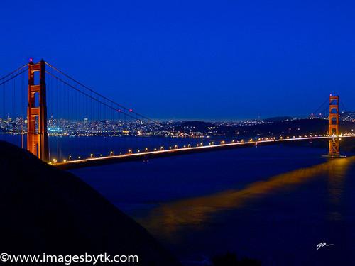 Golden Gate Reflection - San Francisco- California Fine Art Photograhy for Sale