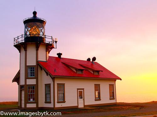 0733 Point Cabrillo Lighthouse- California Fine Art Photograhy for Sale