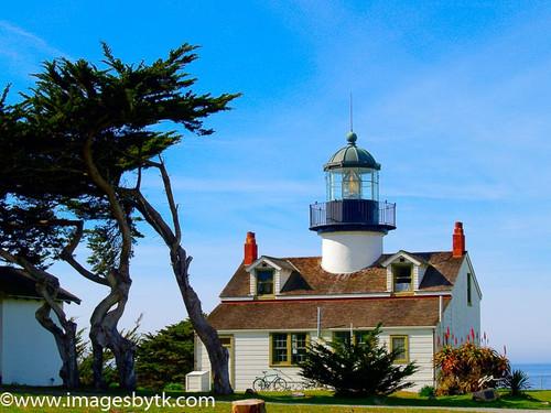 Point Pinos Lighthouse- California Fine Art Photograhy for Sale