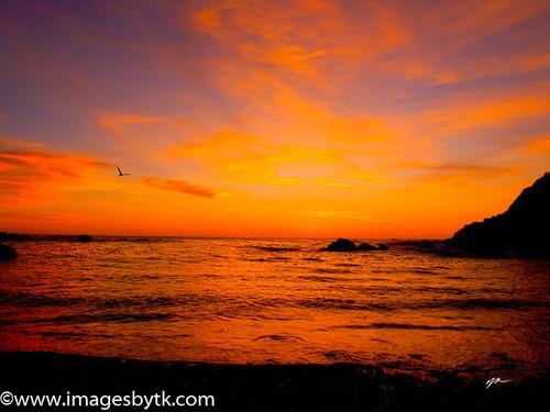 Sunset At Stillwater Cove- California Fine Art Photograhy for Sale