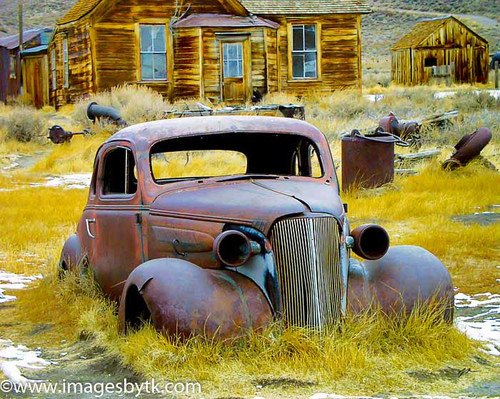 Growing Old Gracefully - Bodie  California Fine Art Photograhy for Sale