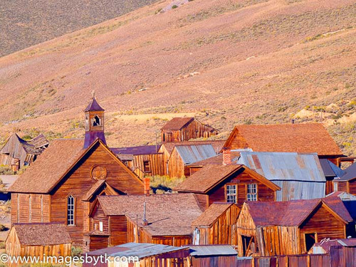 Downtown Bodie  California Fine Art Photograhy for Sale