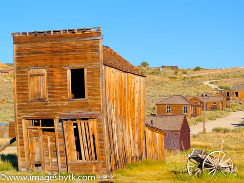 Swazey Hotel - Bodie  California Fine Art Photograhy for Sale