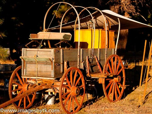 H F Bierkamp Chuck Wagon - Arizona Fine Art Photograhy for Sale
