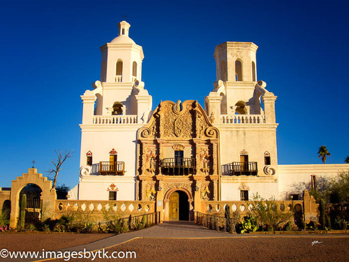 Mission San Xavier del Bac  Arizona Fine Art Photograhy for Sale