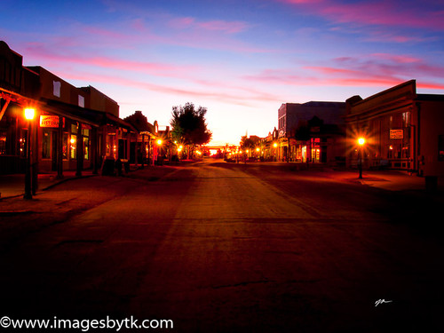 Sunset At Tombstone  Arizona Fine Art Photograhy for Sale