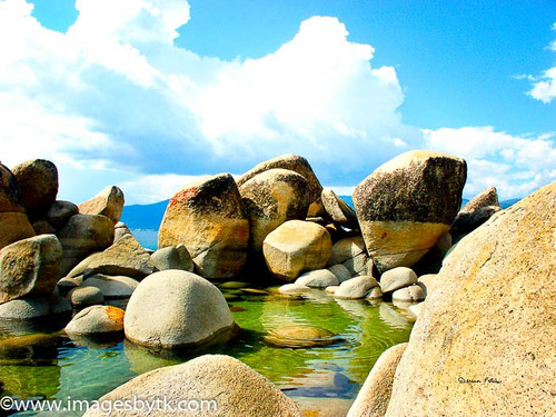 Boulders - Lake Tahoe  California Fine Art Photograhy for Sale