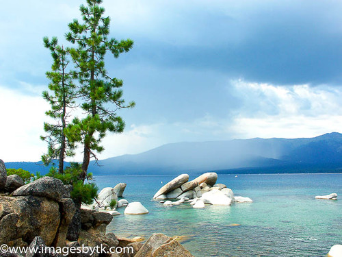 Summer Thunderstorm - Lake Tahoe  California Fine Art Photograhy for Sale