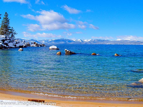 Icy Blue - Lake Tahoe  California Fine Art Photograhy for Sale