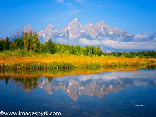 Morning Glow - Grand Teton National Park  Wyoming Fine Art Photograhy for Sale