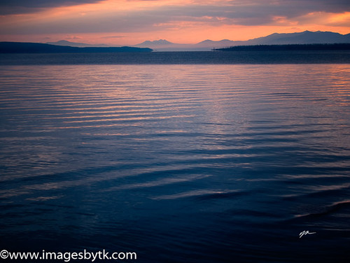 Morning Calm and Beauty - Yellowstone Lake Fine Art Photograhy for Sale