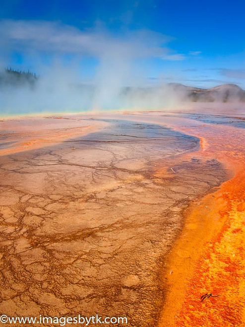 Grand Prismatic Spring - Yellowstone National Park Fine Art Photograhy for Sale