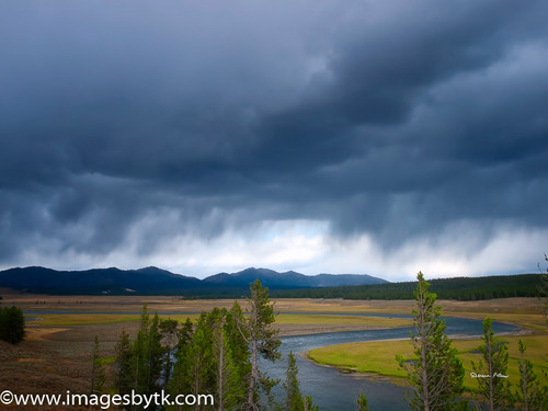 Storm Approaching - Yellowstone National Park Fine Art Photograhy for Sale