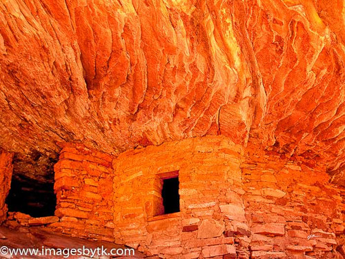 House On Fire Ruin - Mule Canyon  Utah