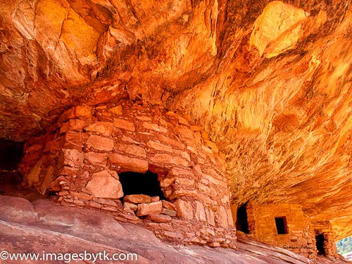 1010 House On Fire Ruin - Mule Canyon  Utah