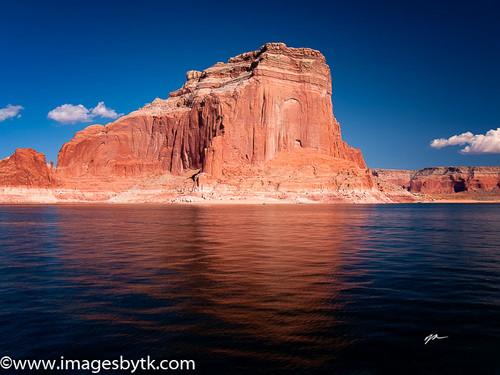 Lake Powell Refection  Arizona