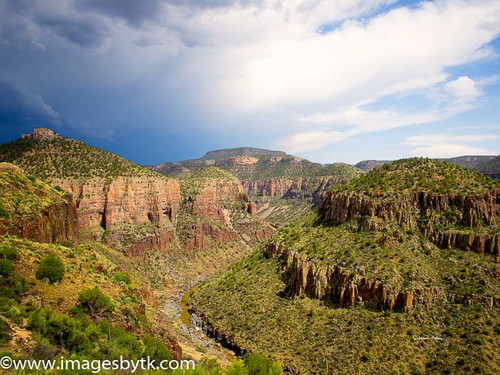 Salt River Canyon  Arizona