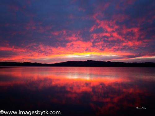 Sunset - Alamo Lake Arizona Fine Art Photograhy for Sale