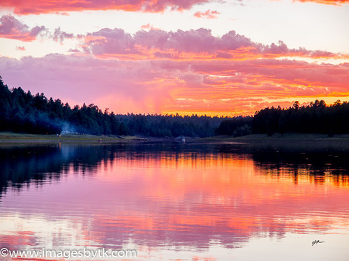 Lake Mary Camping - Arizona Fine Art Photograhy for Sale