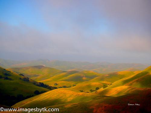 Painted Hills - Morgan Territory Road - California Fine Art Photograhy for Sale