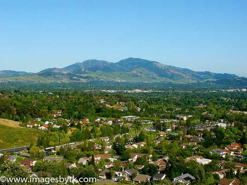 Mt. Diablo From Martinez - California