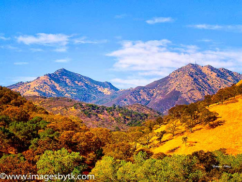 Summer Mt. Diablo - Marsh Creek Road - California Fine Art Photograhy for Sale