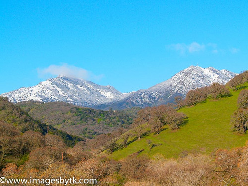 Winter Mt. Diablo - Marsh Creek Road - California Fine Art Photograhy for Sale