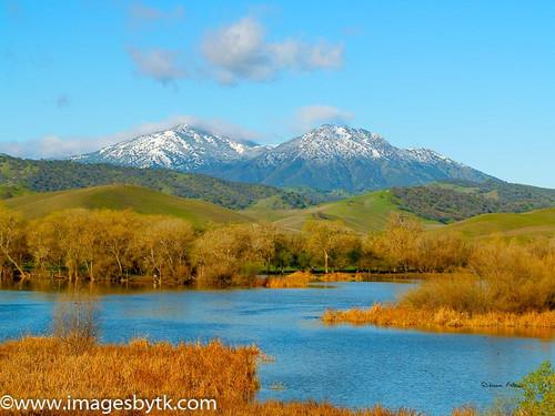 Snowy Mt. Diablo - Marsh Kellogg Creek Watershed - California Fine Art Photograhy for Sale