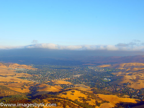 Clayton and Concord From Mt. Diablo - California Fine Art Photograhy for Sale