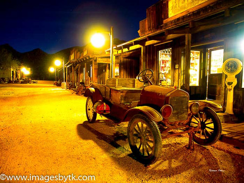 Main Street Looking West - Robson Arizona Mining World Fine Art Photograhy for Sale
