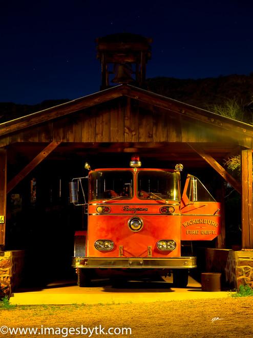 Fire Engine - Robson Arizona Mining World