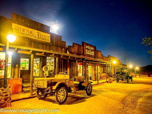 Main Street - Robson Arizona Mining World
