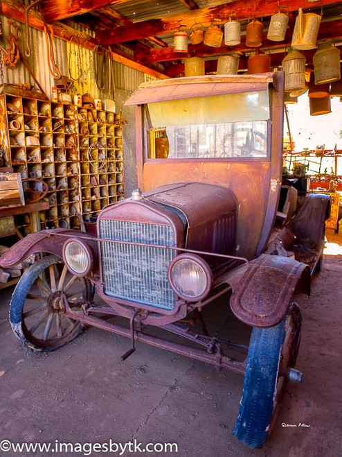Antique Car - Robson Arizona Mining World