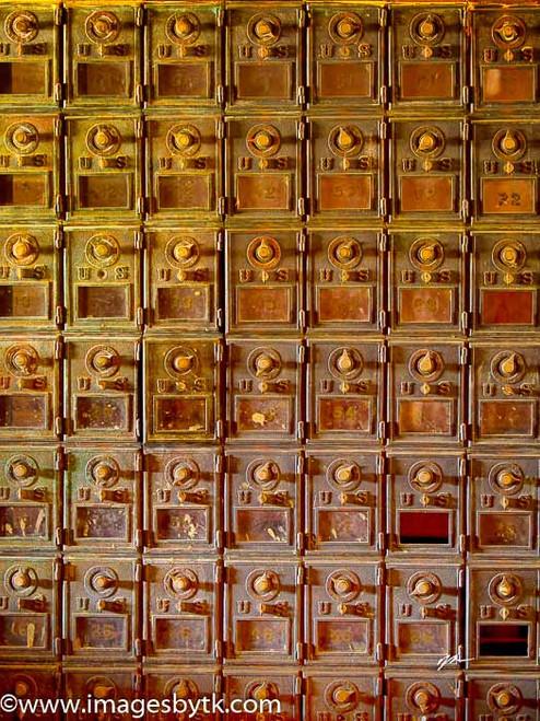 Mail Boxes - Robson Arizona Mining World Fine Art Photograhy for Sale