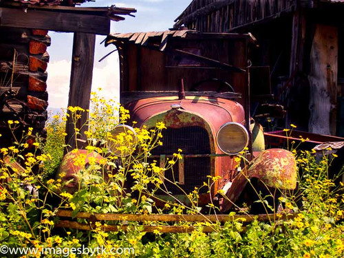 Ford Model AA C-Cab - Gold King Mine & Ghost Town Fine Art Photograhy for Sale