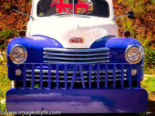 Nash Tow Truck - Gold King Mine & Ghost Town Fine Art Photograhy for Sale