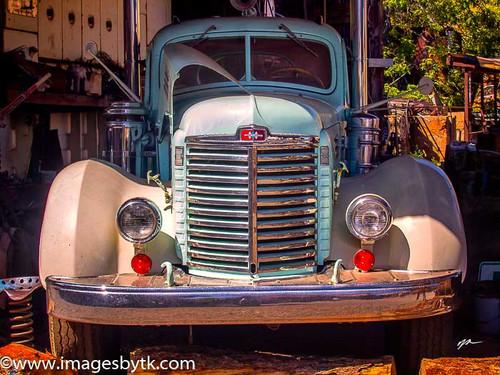 International KBR-12 Truck - Gold King Mine & Ghost Town Fine Art Photograhy for Sale