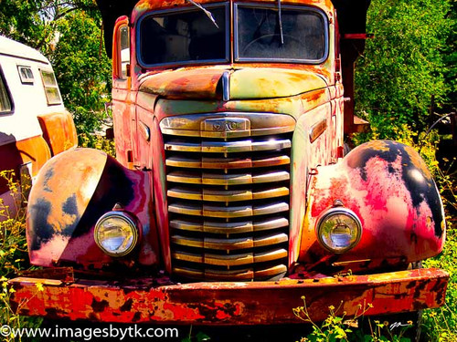 1948 GMC Truck - Gold King Mine & Ghost Town Fine Art Photograhy for Sale